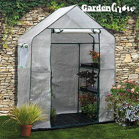 Garden Grow Premium Portable 6 Shelf Greenhouse